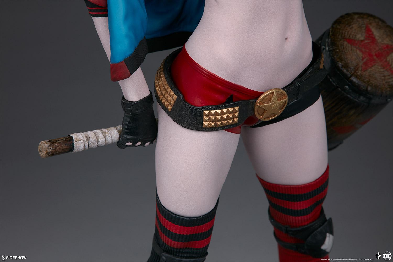 harley-quinn-hell-on-wheels_dc-comics_gallery_5e30bbb15c0b3 Figurine - Harley Quinn en roller par SideShow