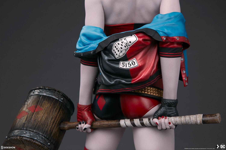 harley-quinn-hell-on-wheels_dc-comics_gallery_5e30bbbdc241c Figurine - Harley Quinn en roller par SideShow