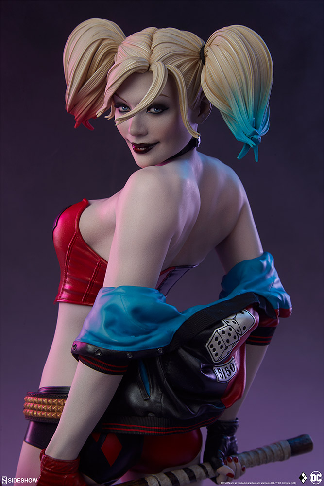 harley-quinn-hell-on-wheels_dc-comics_gallery_5e30bbc0041cf Figurine - Harley Quinn en roller par SideShow