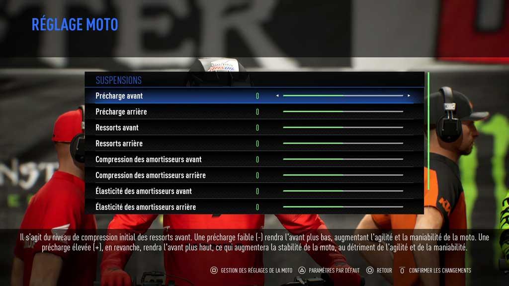 reglage Mon avis sur Monster Energy Supercross 3 - Attention à la chute !