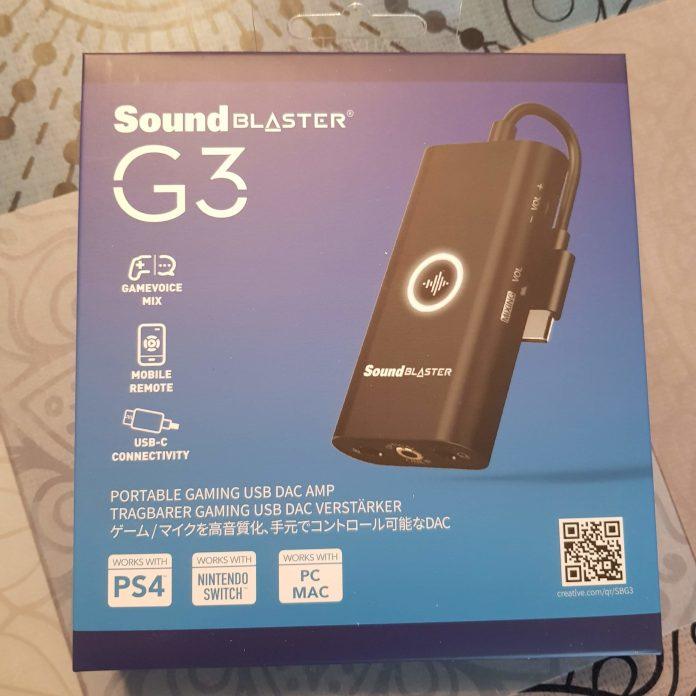 Présentation du G3 de SoundBlaster