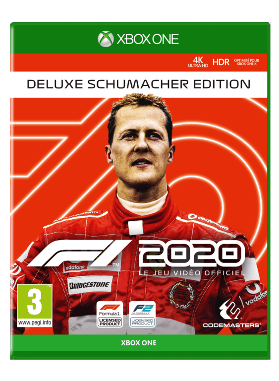 F12020_XB_Deluxe_PACK_2D_FRA_563x768 F1 2020 - Les éditions spéciales et Steelbook