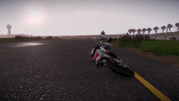 chute3-1024x576 Mon avis sur TT Isle of Man - Ride on the Edge 2 - On ne change pas une équipe qui gagne !