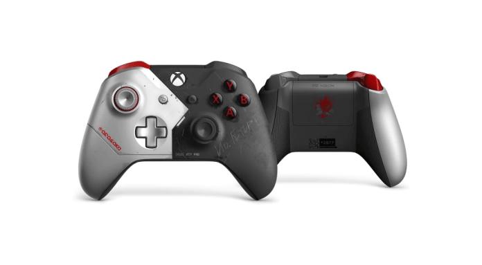 image-2 Premier aperçu de la manette Xbox de Cyberpunk 2077 - Préco Ouvertes