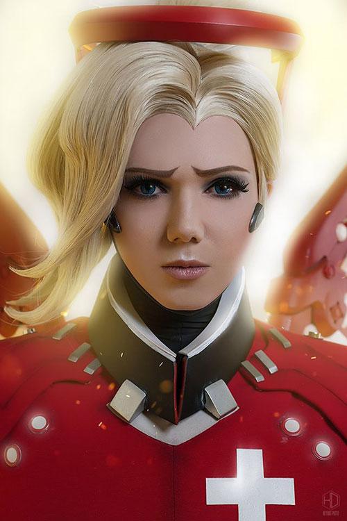 mercy-cosplay-03 Cosplay - Overwatch - Mercy #205