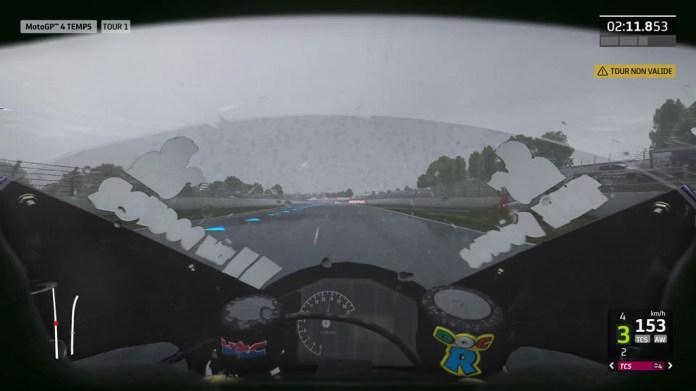 MotoGP20_VueCasque Mon avis sur Moto GP20 - Wheeling power !