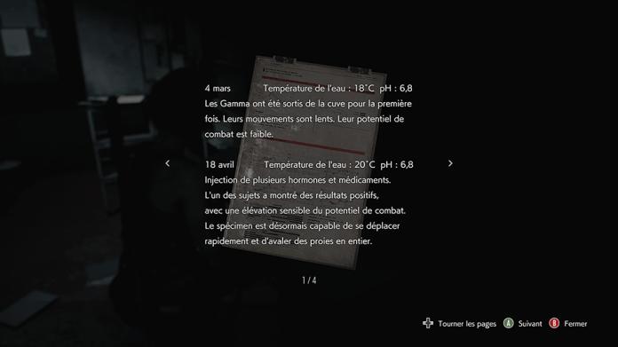 RE3_Documents Resident Evil 3 - Frayez-vous un chemin vers la liberté