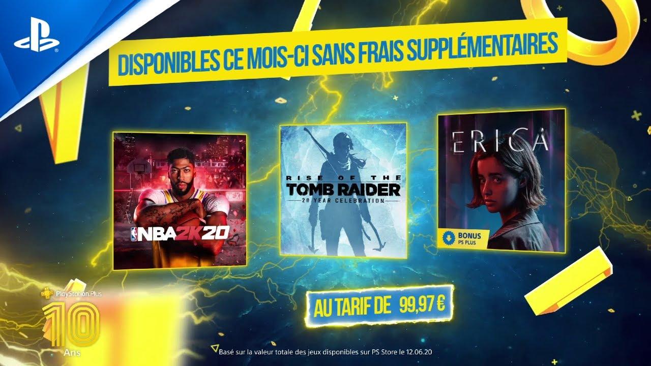 Playstation Plus – Les jeux PS Plus du mois de Juillet 2020 – Games & Geeks