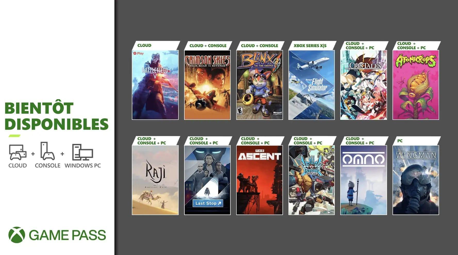 xbox-game-pass-1 Game Pass - Les nouveaux jeux de juillet 2021 connus!