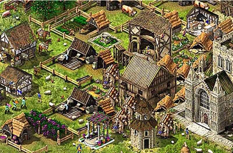 Stronghold Kingdoms Dörfer