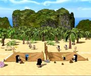 Yetisports Peguin Party Island2