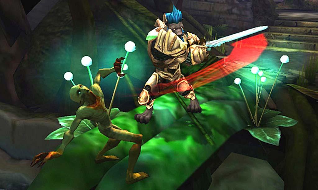 Demo von Heroes of Ruin im Nintendo eShop