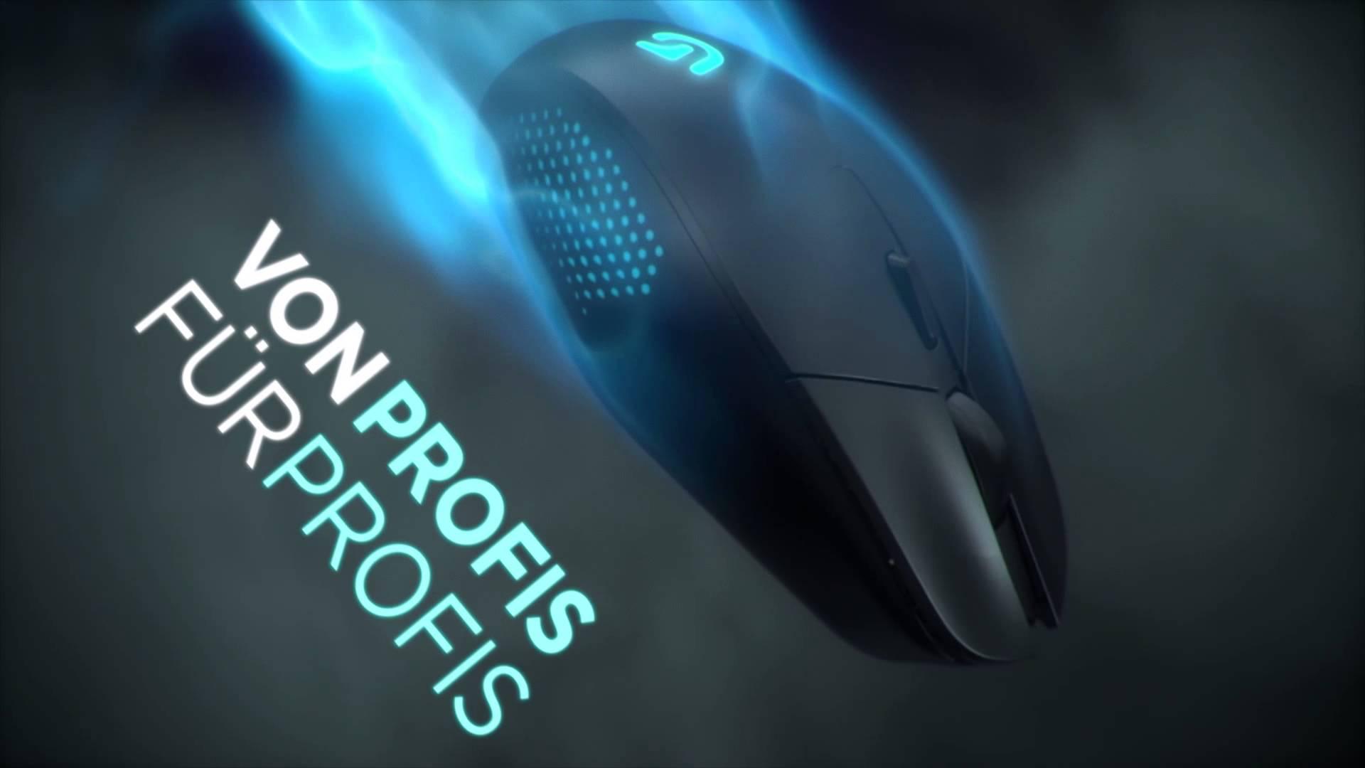 Logitech präsentiert MOBA-Gaming-Maus