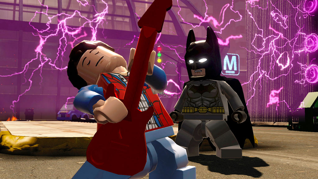 Marty McFly landet in Lego Dimensions