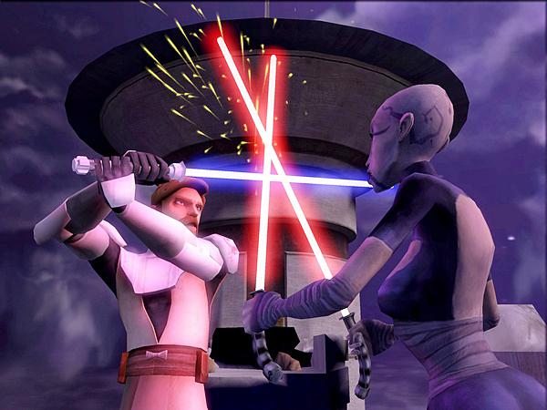 Star Wars: The Clone Wars – Lichtschwerter-Duelle