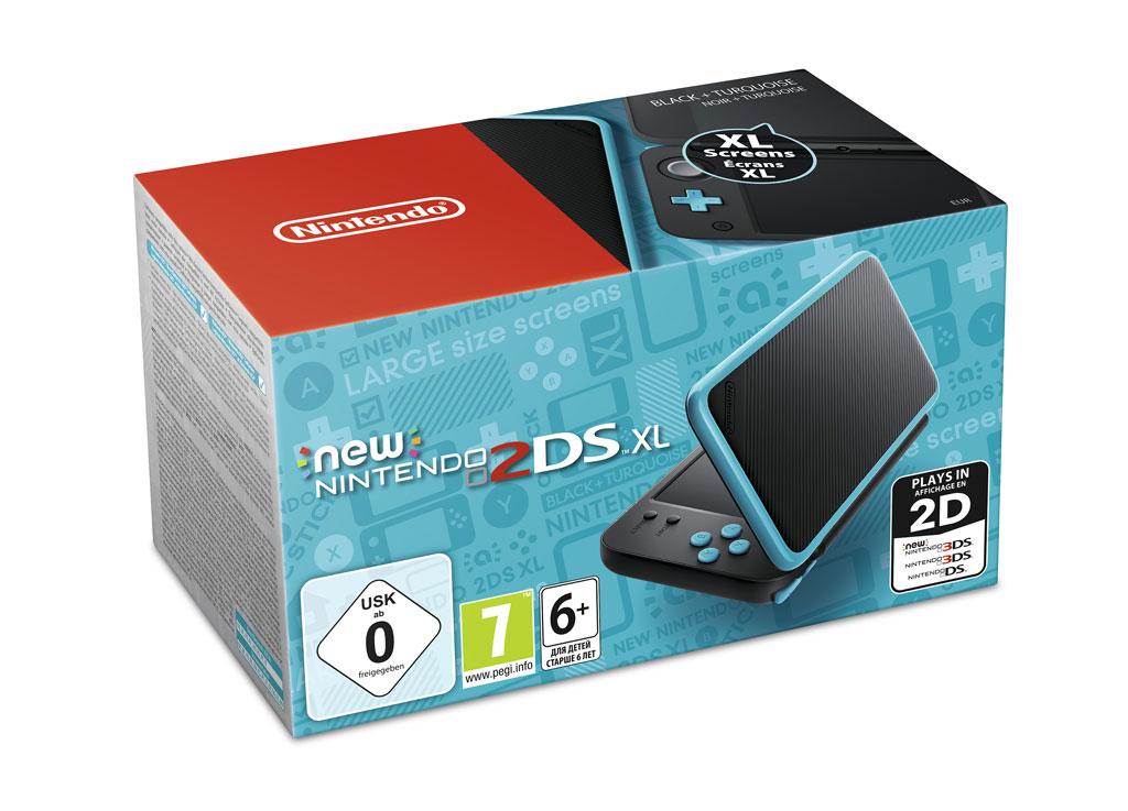Auch Nintendos 2DS gibt es bald in XL