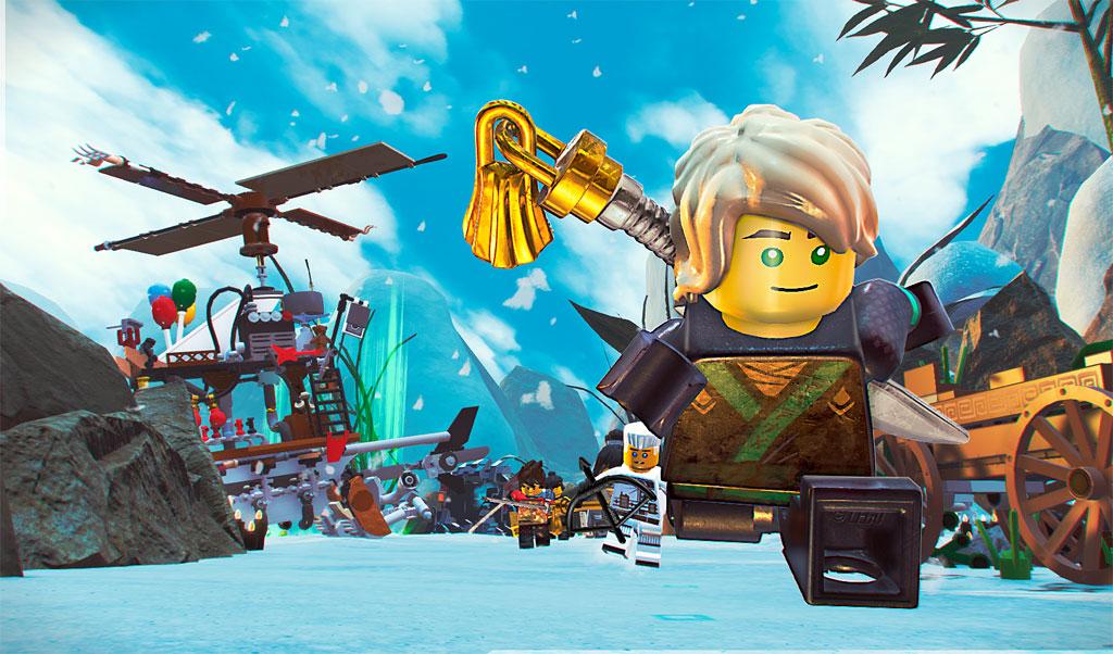 The Lego Ninjago Movie Game