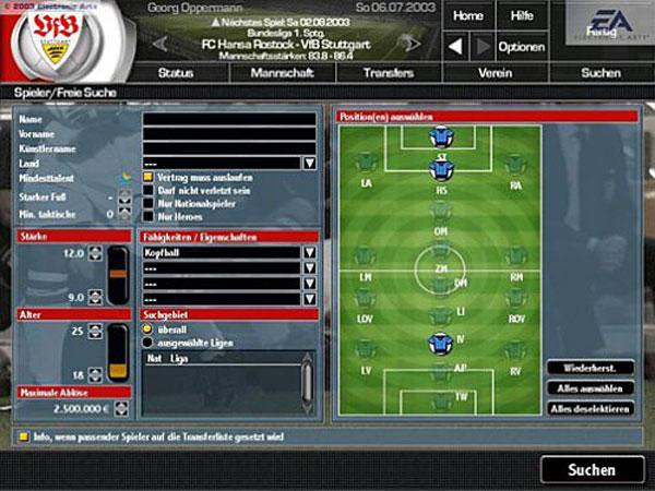 Fußball Manager 2004