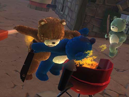 Naugthy Bear