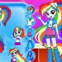 Equestria Girls Dress Up My Little Pony Games