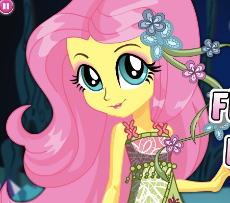Fluttershy Dress Up  My Little Pony Games