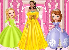 Queen Miranda Royal Dress Up Sofia The First Games
