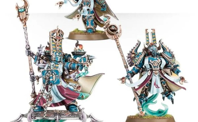 Thousand Sons Sorcerers Are Supposed To Be Immune To