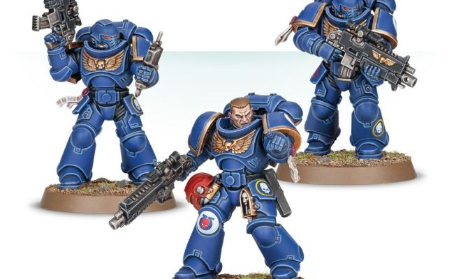 Easy To Build Primaris Space Marine Intercessors Games