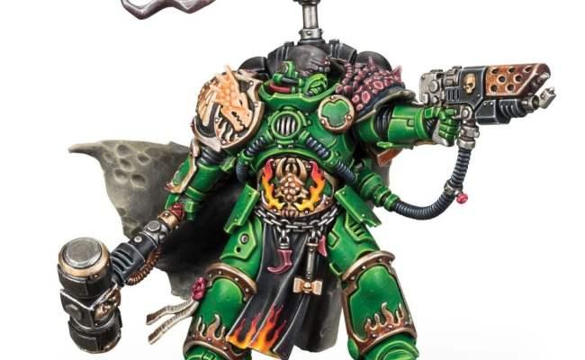 Warhammer 40k Salamanders Iron Fists Transport