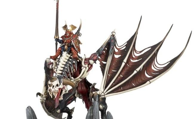 Vampire Lord On Zombie Dragon Games Workshop Webstore