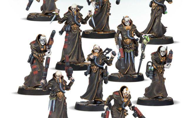 Today S Pre Orders Battleforces Necromunda Delaque