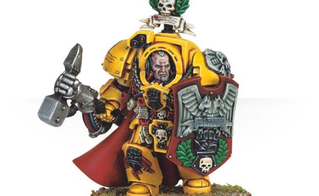 Imperial Fists Captain Lysander Games Workshop Webstore