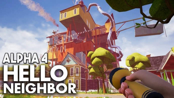 hello neighbor alpha 4 download free full version