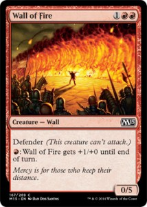 Muro di Fuoco Magic 2015