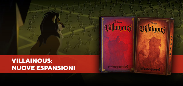 Disney Villainous Ravensburger, le nuove espansioni: Banner