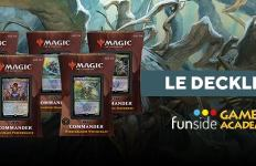 Magic Commander Deck 2021 Le Decklist Banner