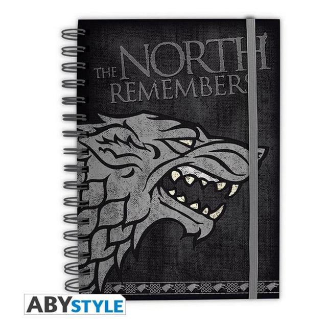 Notebook GOT Stark The North Remembers