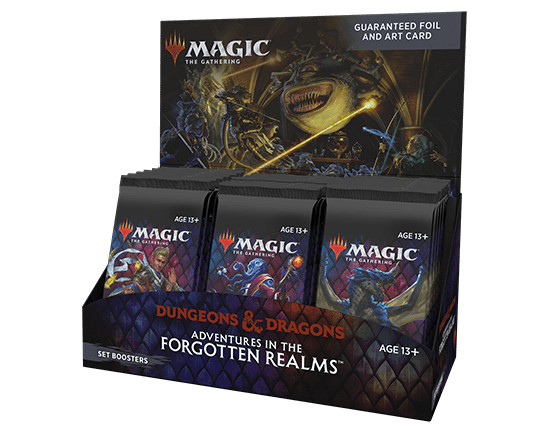 Magic the Gathering Wizards Dungeons & Dragons Set Boosters Box