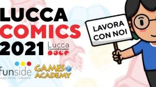 Lucca Comics 2021 - Lavora Con Noi Banner