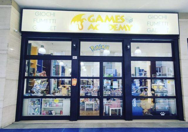 Games Academy Bologna - L'Ingresso