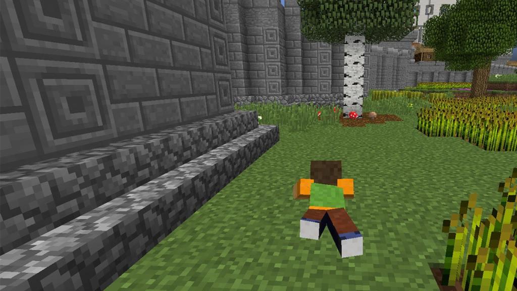 Crawl in Minecraft