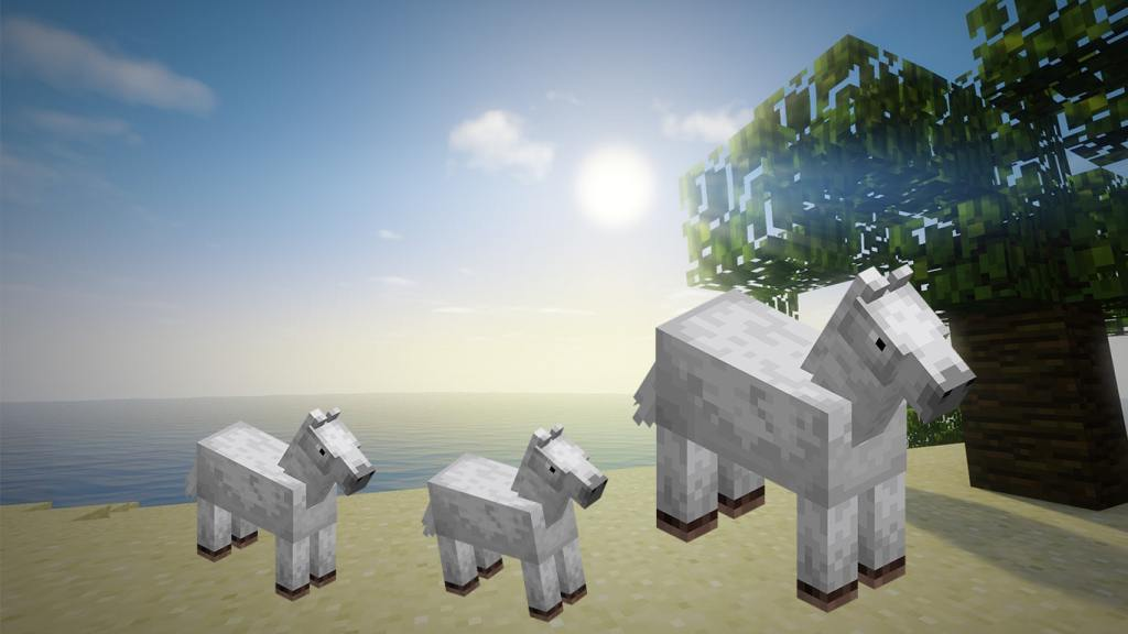 Breed Minecraft Horse