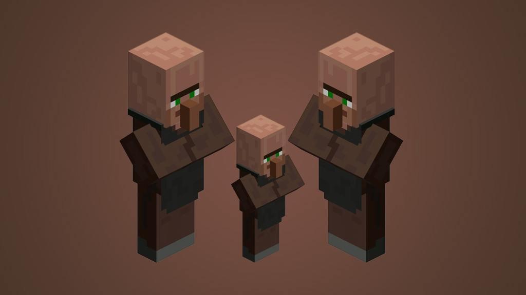 Breed Villagers in Minecraft