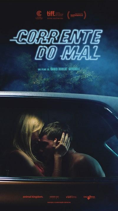 Corrente do Mal poster GamesBrasil Nerd Cine Fest Santos California Filmes