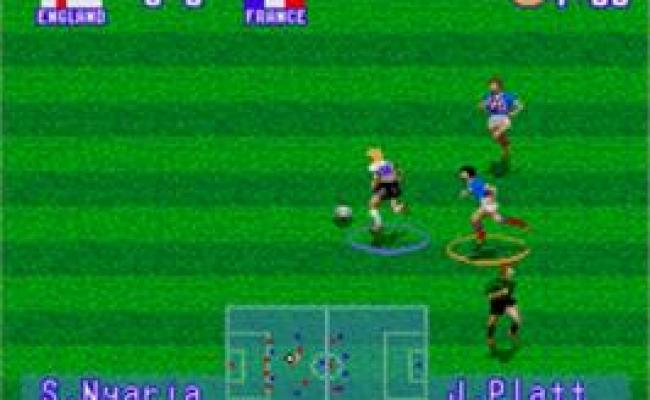 International Superstar Soccer Deluxe Sega Genesis
