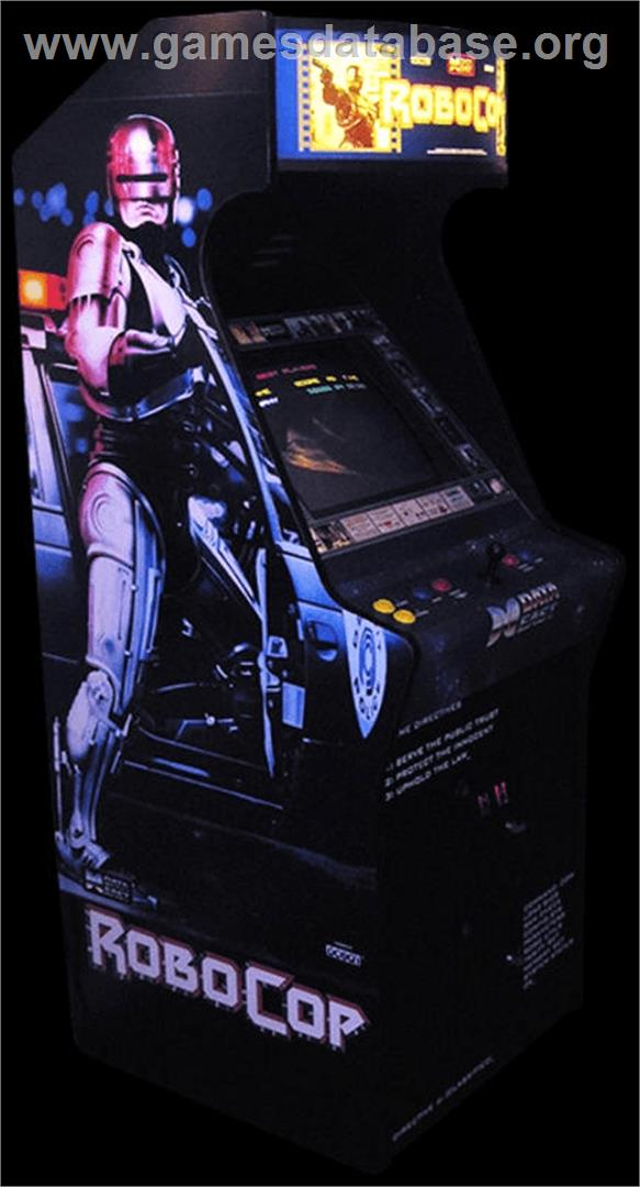 Robocop  Arcade  Games Database