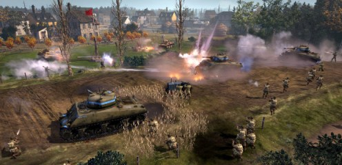 Exército americano em Company of Heroes 2: The Western Front Armies.