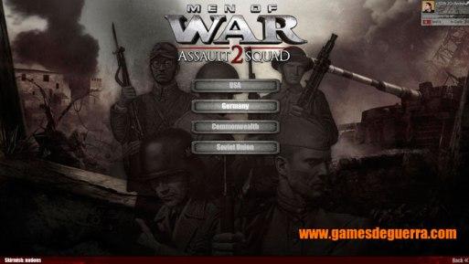 Men of War: Assault Squad 2 oferece mapas skirmish para singleplayer