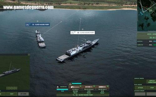 Wargame: Red Dragon oferece batalhas navais inovadoras