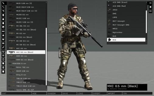Realidade virtual em ArmA III